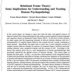 Barnes-Holmes et al. (2004)